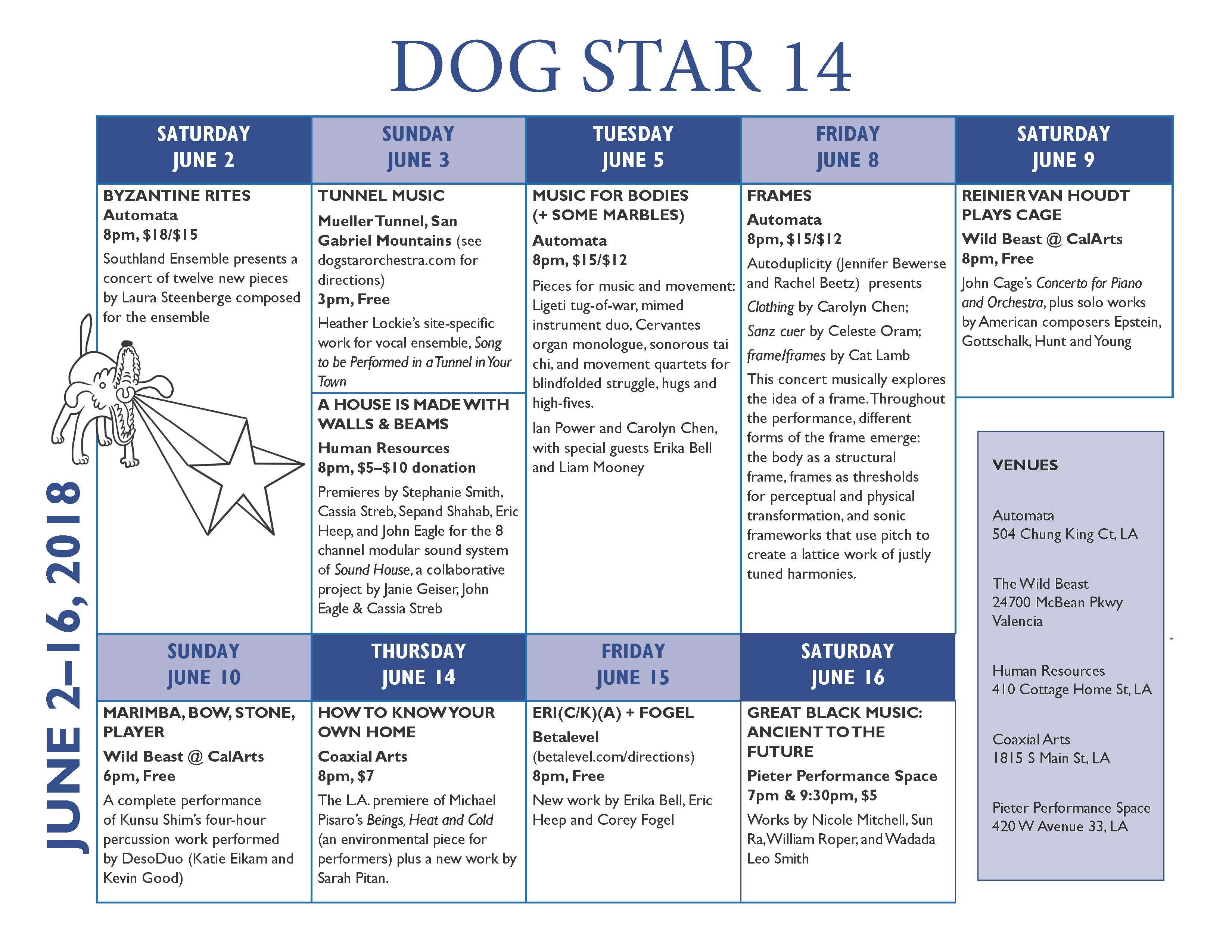 dogstar 14 may 31